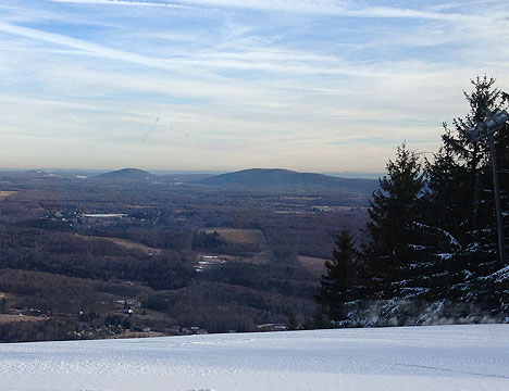 View from the top of Elk Mountain
